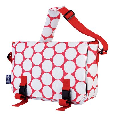 Wildkin Ashley Big Dot Jumpstart Messenger Bag