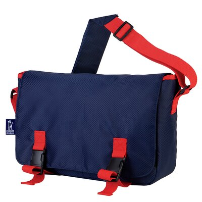 Wildkin Solids Rip-Stop Jumpstart Messenger Bag