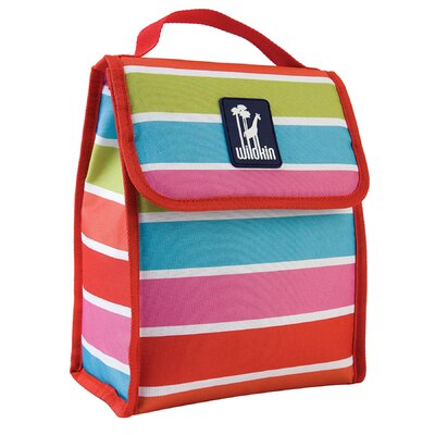 Wildkin Ashley Bright Stripes Munch 'N Lunch Bag