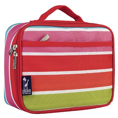 Wildkin Ashley Bright Stripes Lunch Box