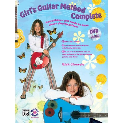Alfred Publishing Company Girl's Guitar Method Complete