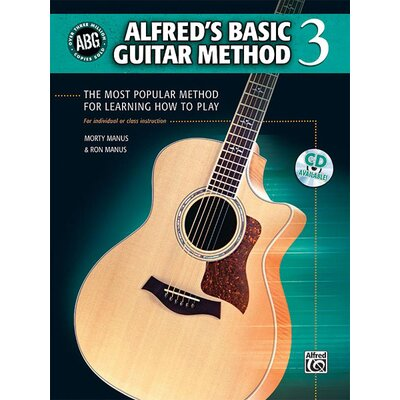 Alfred Publishing Company Basic Guitar Method, Book 3