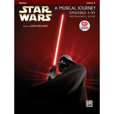 Alfred Publishing Company Star Wars® Instrumental Solos (Movies I-VI): Clarinet