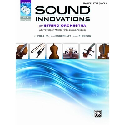 Alfred Publishing Company Sound Innovations for String Orchestra, Book 1 (Score, CD and DVD)
