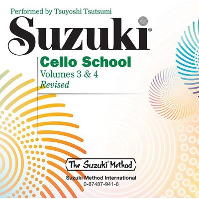 Alfred Publishing Company Suzuki Cello School CD, Volume 3 and 4