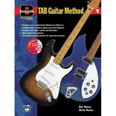 Alfred Publishing Company Basix®: Tab Guitar Method, Book 1