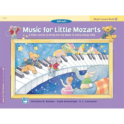 Alfred Publishing Company Music for Little Mozarts: Music Lesson Book 4