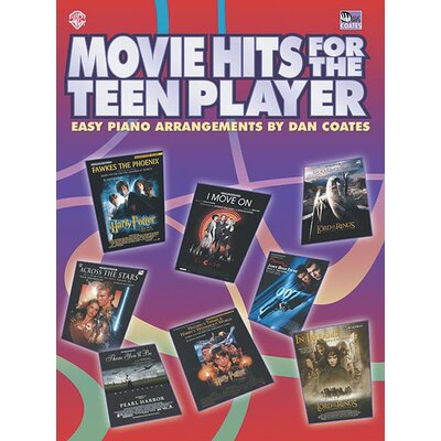 Alfred Publishing Company Movie Hits for the Teen Player