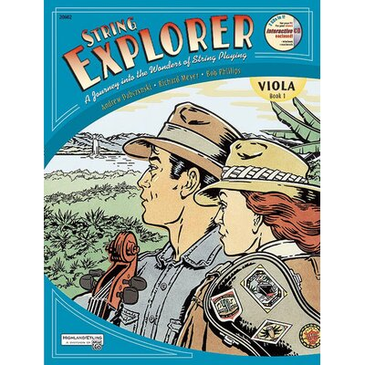 Alfred Publishing Company String Explorer Book 1