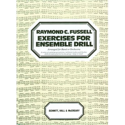 Alfred Publishing Company Exercises for Ensemble Drill