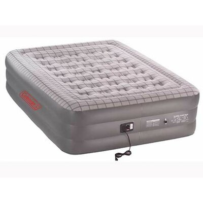 Coleman Quickbed Queen Double High Airbed with Built-in Pump