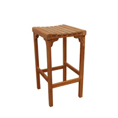 Anderson Teak Montego Backless Bar Chair