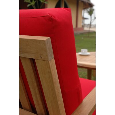 Anderson Teak Brianna Deep Seating Arm Chair with Cushion