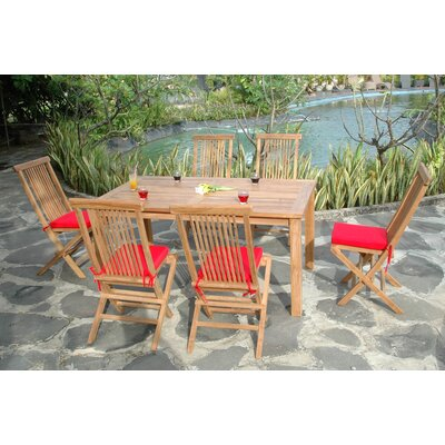 Anderson Collections Montage 7 Piece Dining Set