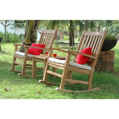 Anderson Teak Palm Beach 2 Piece Rocker Seating Group