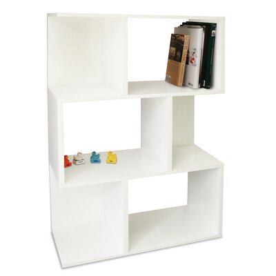 Way Basics Eco-Friendly Madison Bookcase in White