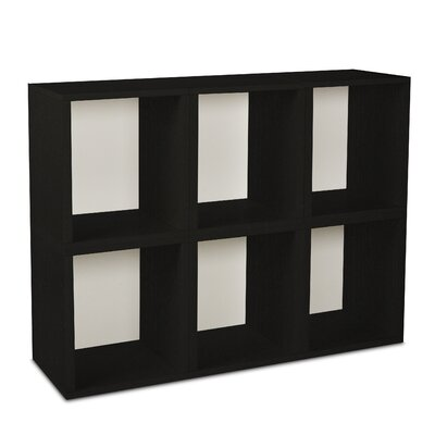 Way Basics Eco-Friendly Modular Storage Cubes Plus (Set of 6)