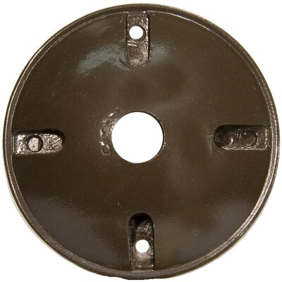 "Morris Products 4"" Round Weatherproof Covers in Bronze"