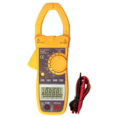 Morris Products 400A AC / DC Cat III TRMS Auto Ranging Digital Clamp Meter