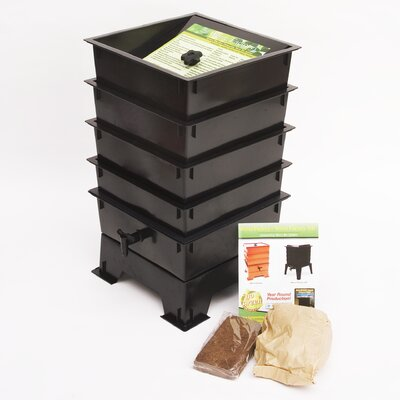 Nature's Footprint Worm Factory 4 Tray Composter