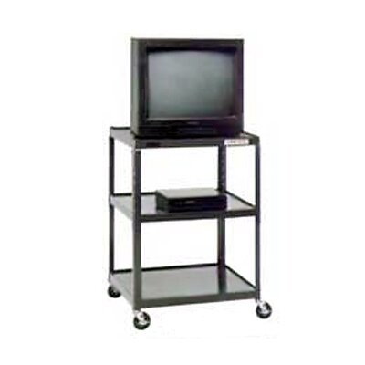 "Da-Lite Pixmate 25"" x 30"" Shelf Television Cart [25.5"", 34"", 42"", 48"", 54"" Heights]"