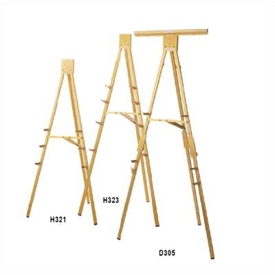 Da-Lite D305 Portable 6' Folding Easel with Chart Clamp