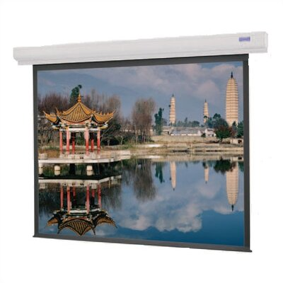"Da-Lite 89736 Designer Contour Electrol Motorized Screen - 43 x 57"", 120V, 60Hz"