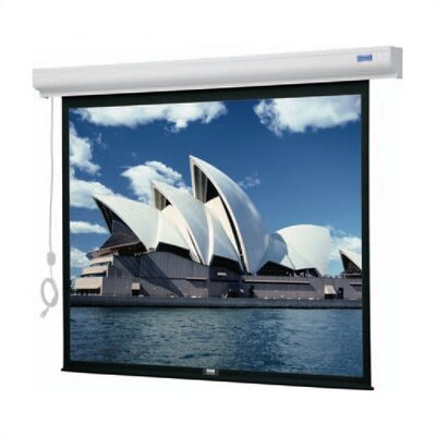 "Da-Lite Designer Cinema Electrol Front Projection Screen - 43 x 57"" - 72"" Diagonal - Video Format - 4:3 Aspect - High Power"