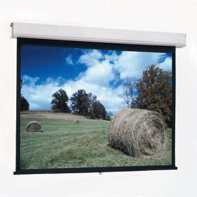 "Da-Lite High Contrast Matte White Advantage Manual with CSR - AV Format 70"" x 70"""
