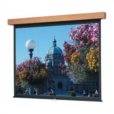 "Da-Lite High Power Hamilton Designer Manual Screen - 120"" diagonal AV Format"