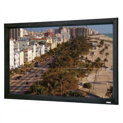 "Da-Lite High Contrast Perforated Cinema Contour Fixed Frame Screen - 43"" x 57 1/2"" Video Format"