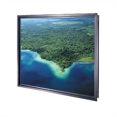 Da-Lite Da-Glas Self Trimming Rear Projection Screen - 60&quot; x 80&quot; Video Format