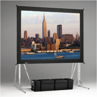 "Da-Lite Da-Mat Truss Fast Fold Complete Front Projection Screen - 10'6"" x 14'"