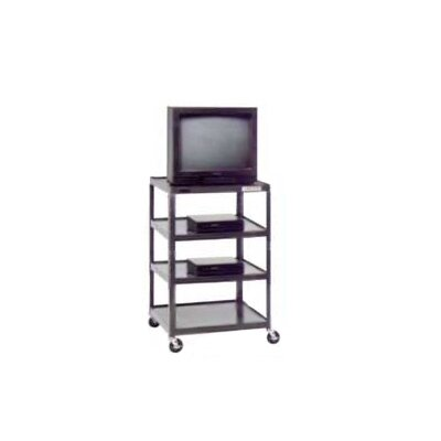 "Da-Lite Pixmate 25"" x 30"" Multi-Shelf Television Cart [48"" Height]"
