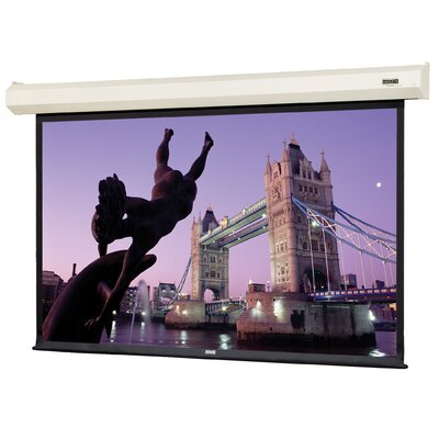 "Da-Lite Cosmopolitan Electrol Matte White Projection Screen - 43"" x 57"" Video Format"