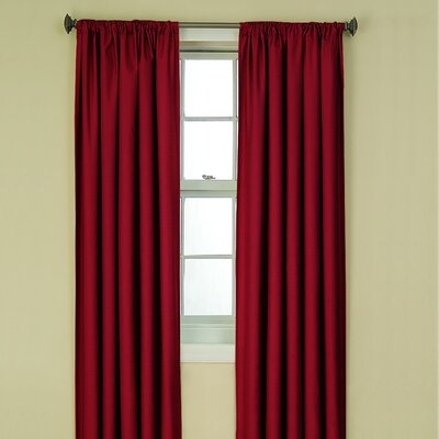 Eclipse Curtains Kendall Blackout Window Panel in Ruby