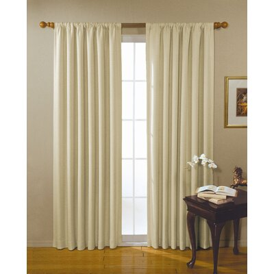 Eclipse Curtains Alfred Blackout Window Panel in Khaki