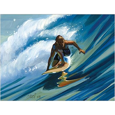 Art 4 Kids Rail Grab Surfer Wall Art