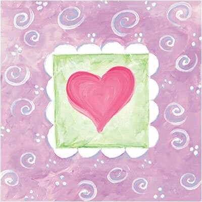 Art 4 Kids Spring Heart III Wall Art