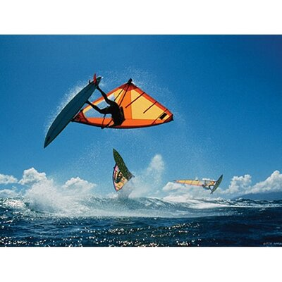 Art 4 Kids Wind Surfers Wall Art