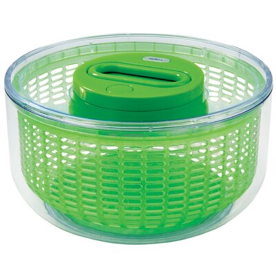 Zyliss Easy Spin Salad Spinner 4-6 Servings in Green