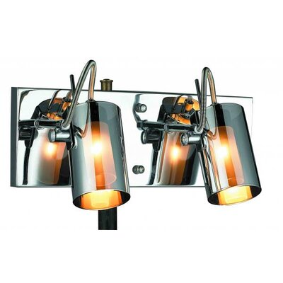 Gen-Lite Silhouette 2 Light Wall Sconce