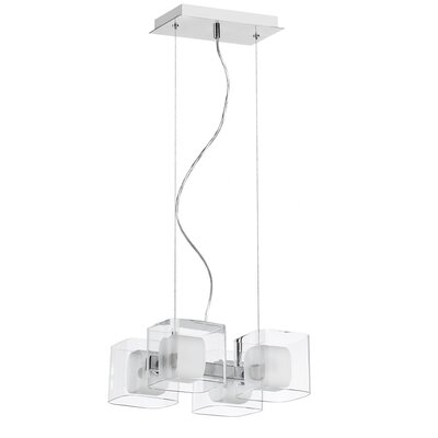 Dainolite Courtney 4 Light Pendant