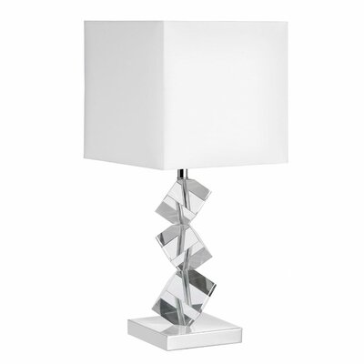 Dainolite 1 Light Crystal Table Lamp