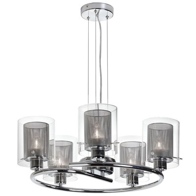 Dainolite 5 Light Chandelier