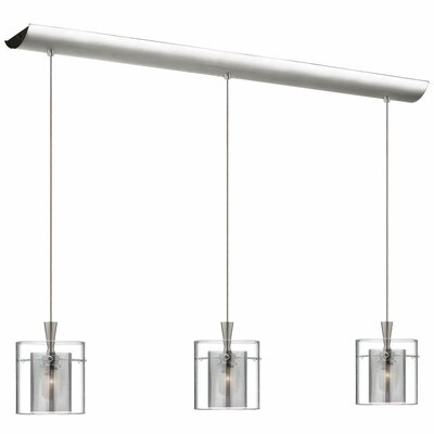 Dainolite 3 Light Horizontal Pendant