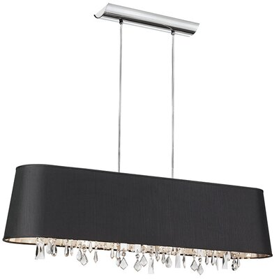 Dainolite 4 Light Drum Pendant