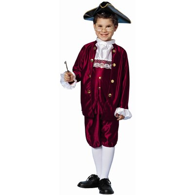 Franco Ben Franklin Costume (Small)
