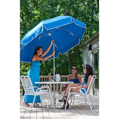7.5' Steel Marine Patio Umbrella with Crank and Tilt