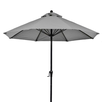 Frankford Umbrellas 9' Fiberglass Crank-up Market Umbrella